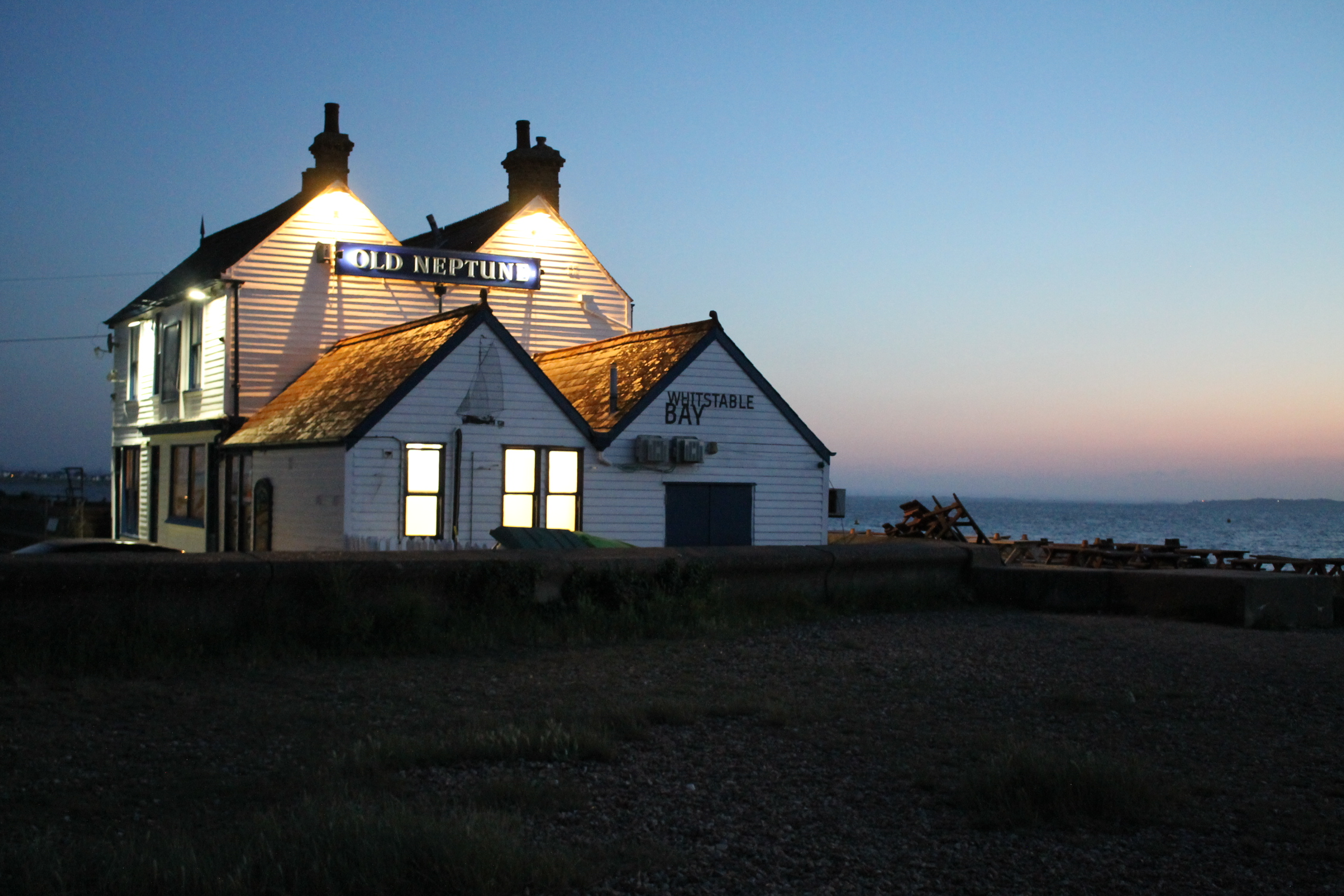 Photo of a building: Old Neptune at Whitstable Bay